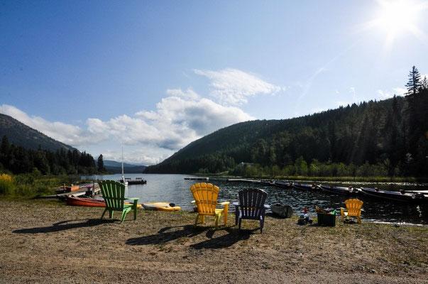 Am wunderschönen Jewel Lake