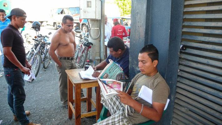 Fahrzeugausfuhr auf Guatemaltekisch