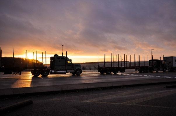 Am Fährhafen in Pictou