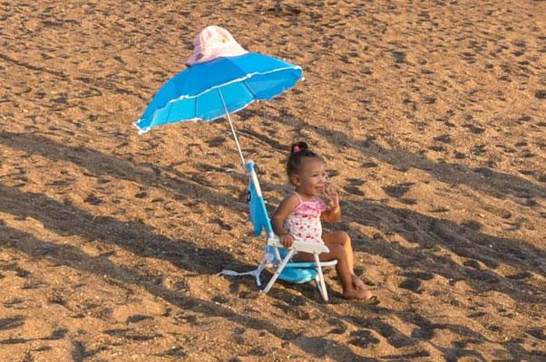 Principessa am Strand