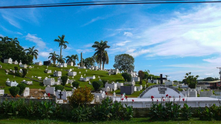 Friedhof in Limón
