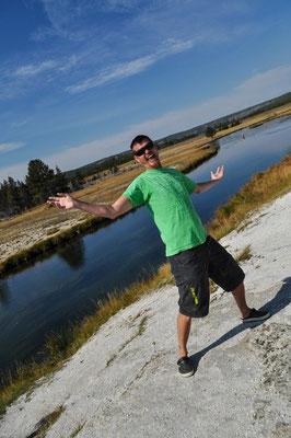 Yuppie, wir sind im Yellowstone