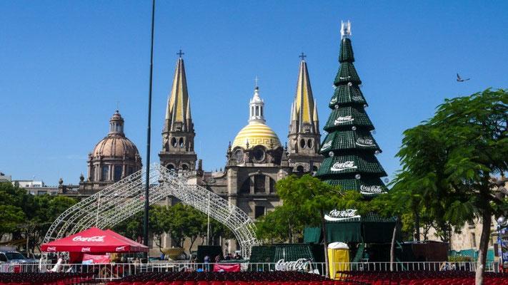 Die schöne Kathedrale von Guadalajara