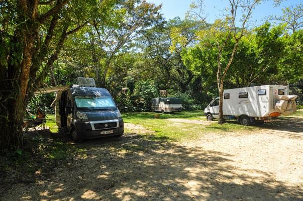 Campingplatz Mayabell mit Maria und Hans-Jörg