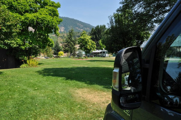 Kootenay River Campground, Castlegar