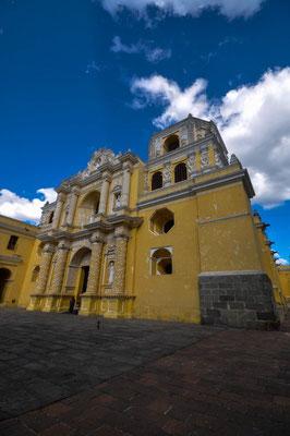 Die antike Stadt Antigua