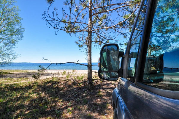 Agawa Bay Campground, Lake Superior Provincial Park