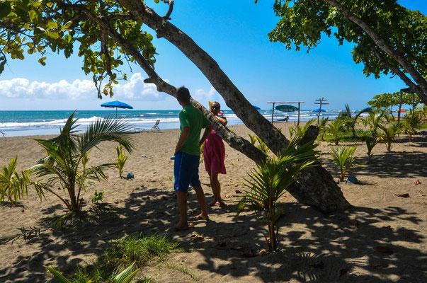 An der Playa Esterillos, Costa Rica