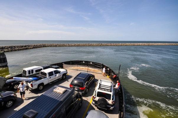 Fähre nach Ocracoke Island