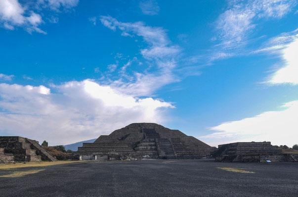 Teotihuacán - Pyramide des Mondes