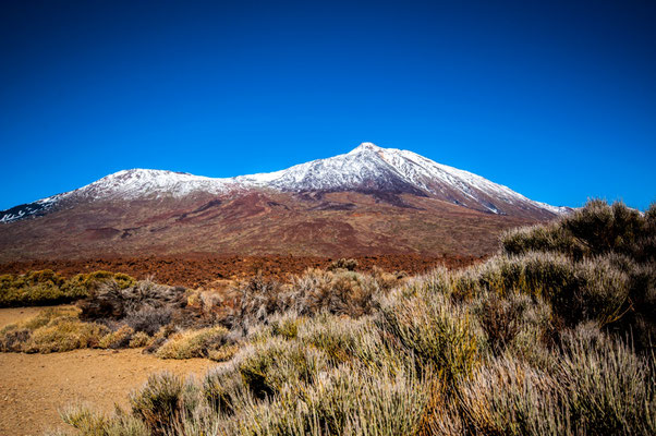 Der wunderschöne Vulkan Teide, Teneriffa