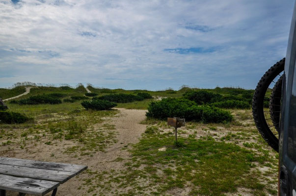 Ocracoke Campground, Nationalpark