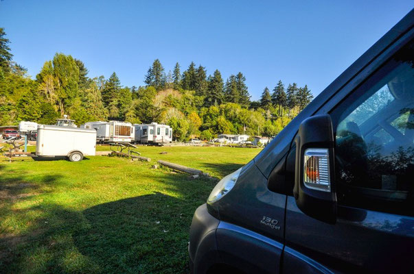 Riverside RV Resort, Brookings