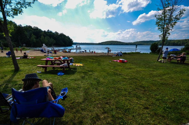 Beach am Bergsee