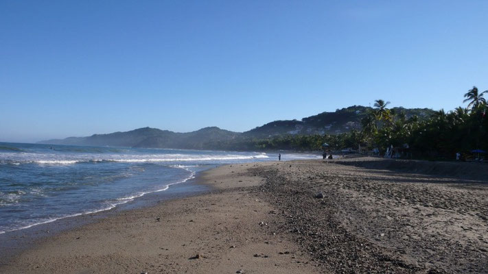 Wunderschöner Strand in Sayulita