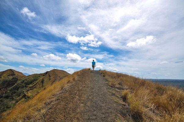 Wanderung am Volcan Masaya