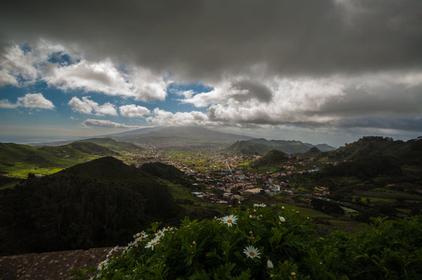 Aussicht auf La Laguna, Teneriffa