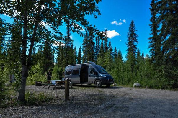 Stopp kurz vor Dawson City