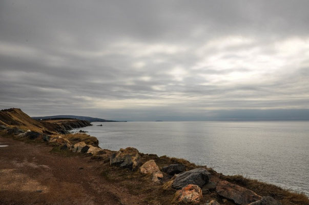 Auf dem Weg zum Cape Breton NP