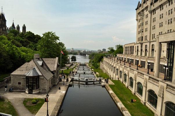 Schleusen in Ottawa
