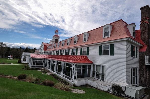 "Edles Hotel in Tadoussac, bekannt aus dem Film ""Hotel New Hampshire"""
