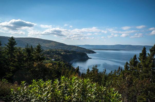 Wieder mal im Nationalpark von Cape Breton
