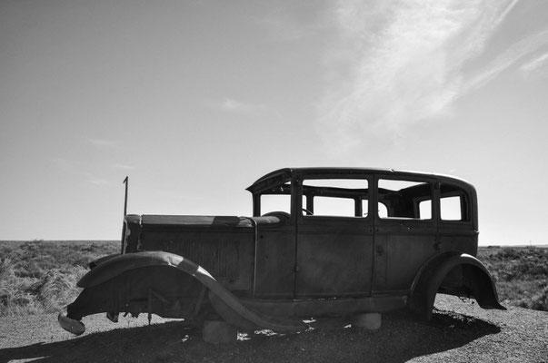 Studebaker auf der historischen Route 66