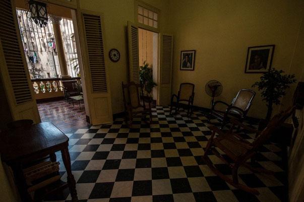 In unserem Casa im Zentrum von Havanna