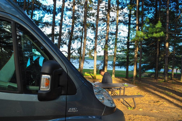 Two River Lakes Campground, Algonquin Provincial Park