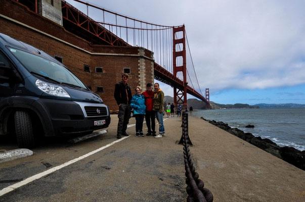 Mit meinen Eltern in San Francisco