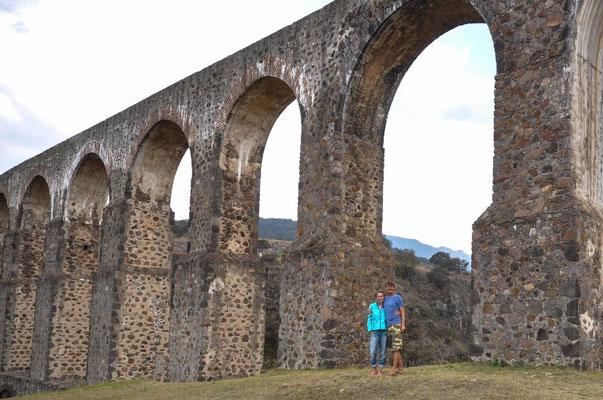 Am Arcos del Sitio bei Tepotzotlán, México
