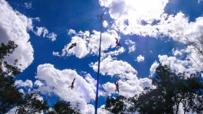 Voladores - die fliegenden Tänzer von México