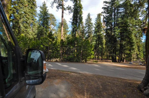 Azale Campground, Kings Canyon Nationalpark