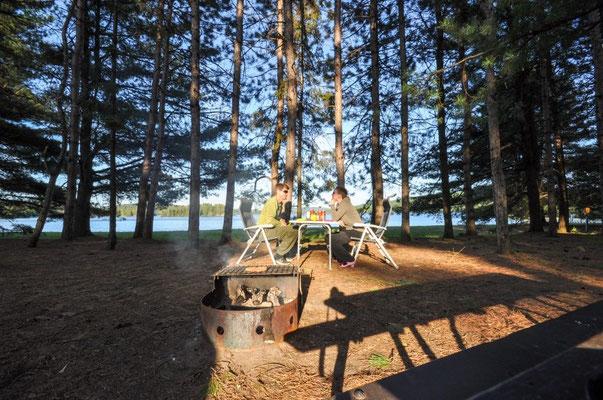 Z'Nacht im Algonquin Provincial Park