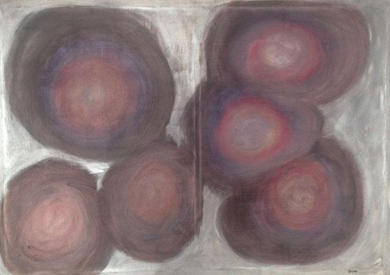 BUBBLES  Acrylpainting on canvas, ca. 80 x 110 cm
