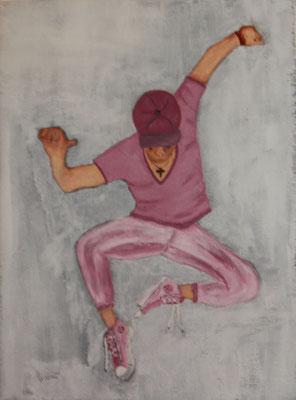 DANCE 2  Oilpainting on canvas, ca. 20 x 30 cm