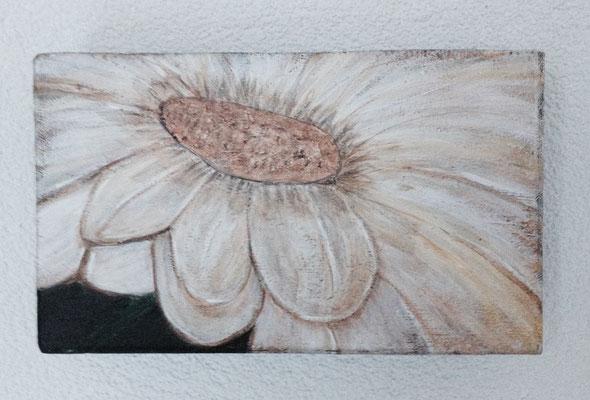 MARGERITTA  Acrylpainting on canvas, ca. 15 x 25 cm