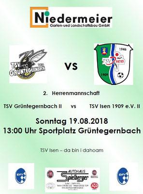2. Herrenmannschaft TSV Isen 1909 e.V.