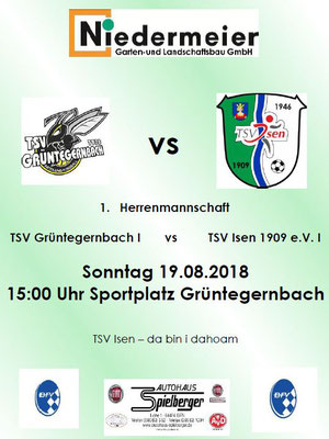 1. Herrenmannschaft TSV Isen 1909 e.V.