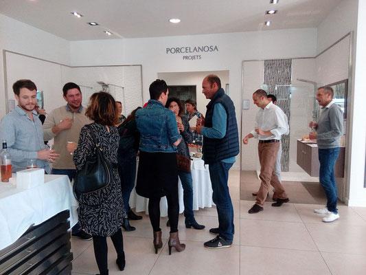 Rencontre chez notre partenaire Porcelanosa