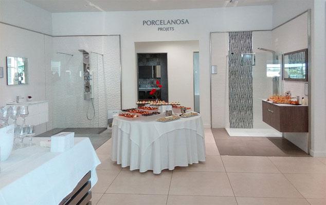 Rencontre chez notre Porcelanosa Montpellier