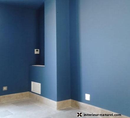 Intérieur naturel Bleu Vendôme