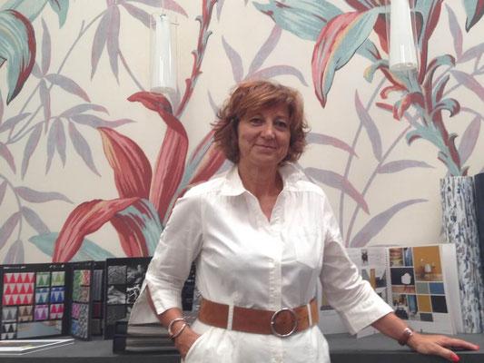 Annie-Claude - responsable du Show Room Style et Déco