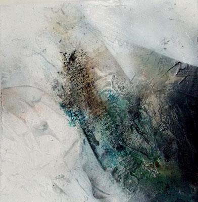 Reflection IV - 40 x 40 cm x 4 cm - 2016