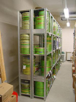 Filmarchiv, Kellerregal, Kellerregale - zu kaufen bei lagerconsulting.at
