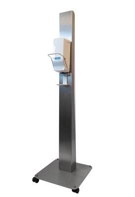 Desinfektionsmittelständer DesiStand Mobil Desinfektionsmittelspender