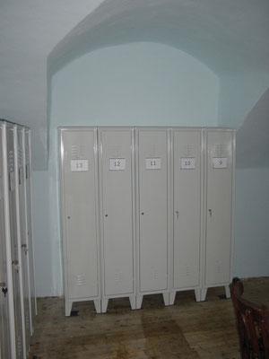 Spinde - Garderoben