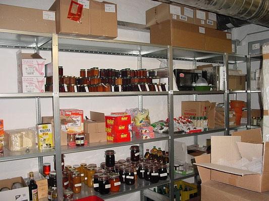 Regal für Lager (Flaschen, Lebensmittel)  - zu kaufen bei lagerconsulting.at