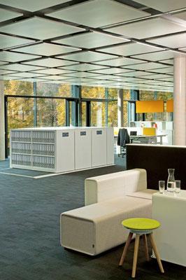 Rollregale - Rollregal, Elektroantrieb für Büro - lagerconsulting.at