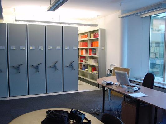 Archivbüro - Archivregal - Schieberegal - zu kaufen bei lagerconsulting.at
